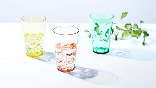 19 oz Drinking Glasses of Plastic Cups Free Made in Japan