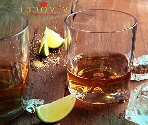 Vivocci & Base | Bourbon & Perfect For Homes & Bars | Dishwasher Barware