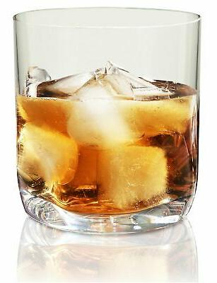 Ideal for Bourbon /& Scotch Perfect For Homes /& Bars Thumb Indent Base Dishwasher Safe Barware Vivocci Unbreakable Tritan Plastic Rocks 12.5 oz Whiskey /& Double Old Fashioned Glasses Set of 2