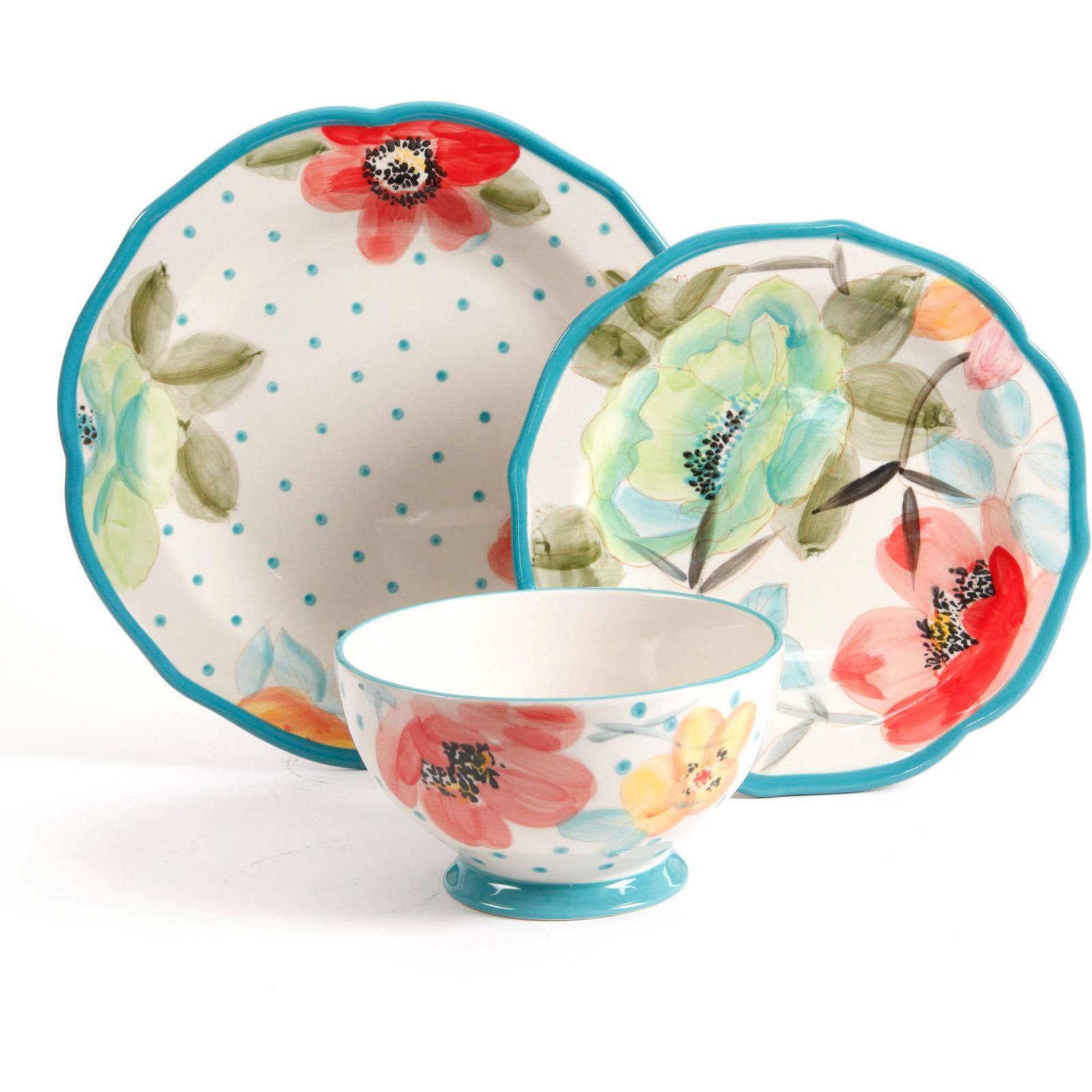 The Bloom 12-Piece Dinnerware Set