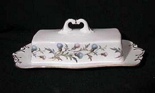 vintage bone china brigadoon rectangle