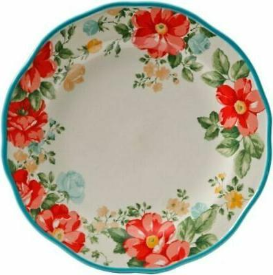The Floral Pc Set Service for Plate