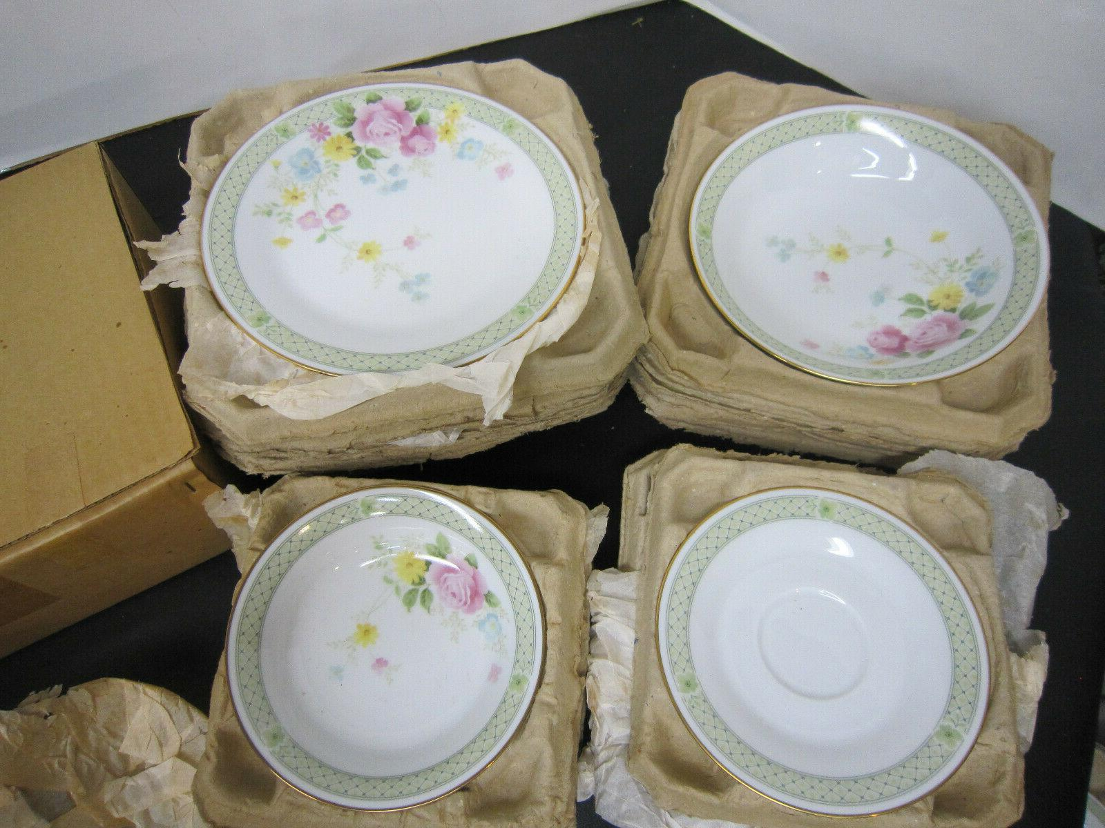 Vintage Rare Noritake Japan Jubilation Dinnerware Set For Pieces