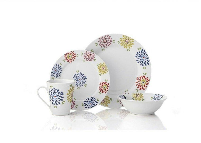 vivia 16 pc dinnerware set new in