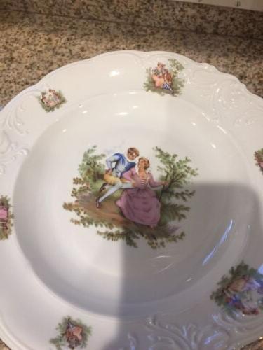 Walbrzych Piece Plates 11 Bowl Size 9.5