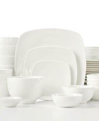 white elements hampton square 33 piece porcelain