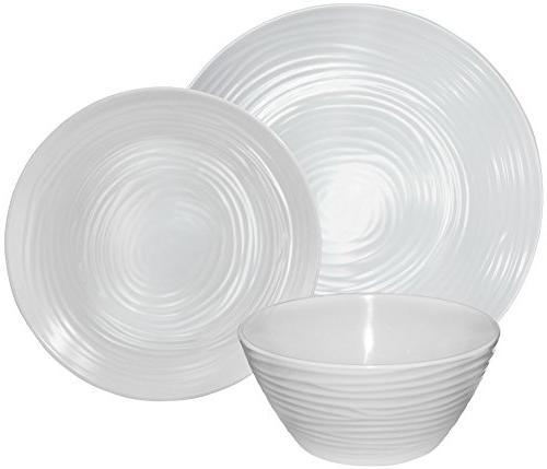 Dinnerware Set, 12-Piece