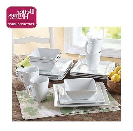 White Porcelain Set Plates