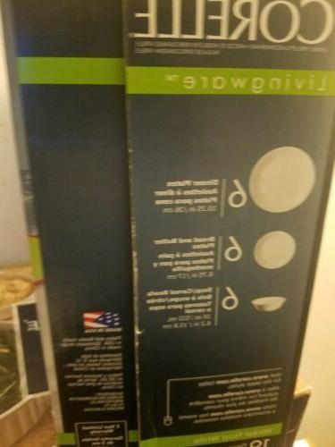 Corelle Winter Frost Dinnerware Set