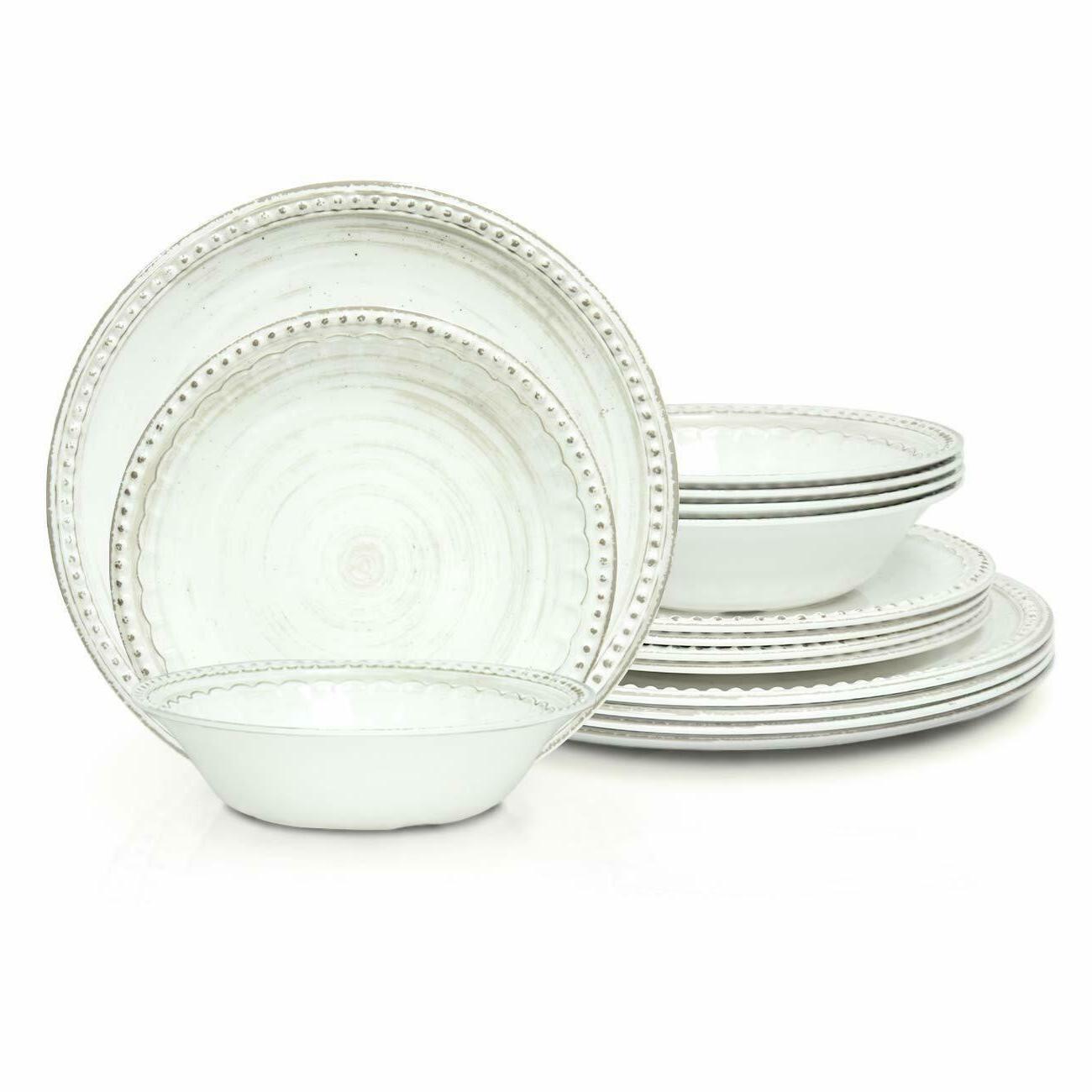 zak designs french country house melamine dinnerware