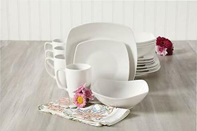 Gibson Home Buffetware 16 Piece White