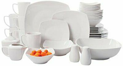 Gibson Home Zen Buffetware 39 Piece Porcelain Dinnerware Set