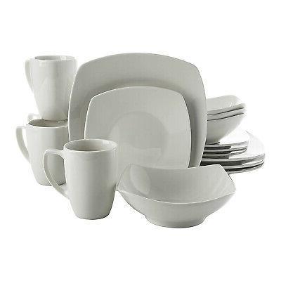 zen buffetware square dinnerware set
