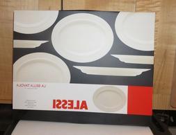 Alessi La Bella Tavola Porcelain Off  White Platter design E