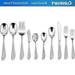Cuisinart 45Pc La Plume Flatware Set