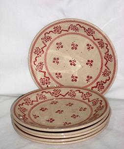 Johnson Brothers Laura Ashley Petite Fleur Red Bread & Butte