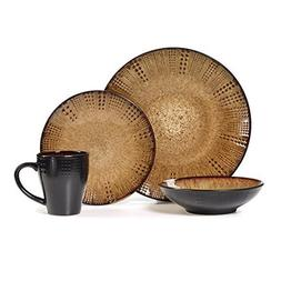 Gourmet Basics Linden 16-piece Dinnerware Set by Gourmet Bas