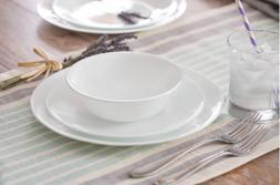Corelle Livingware 16-Piece Dinnerware Set, Winter Frost Whi