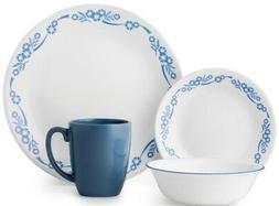 Corelle Livingware Cornflower 16-piece Dinnerware Set Servic