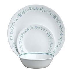 Corelle Livingware Country Cottage 18-Piece Dinnerware Set,