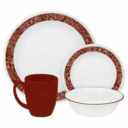 Corelle Livingware Dinnerware 16 Piece Set - Bandhani Design