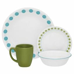 Corelle Livingware 16-Piece Dinnerware Set, South Beach, Ser