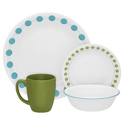 Corelle Livingware 32-Piece Dinnerware Set, South Beach, Ser
