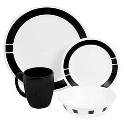 Premium Corelle Livingware 16 piece Dinnerware Set Service f