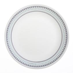 "Corelle Livingware Folk Stitch 10-1/4"" Dinner Plate"