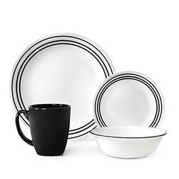 Corelle Livingware 16 Piece Set Onyx Black