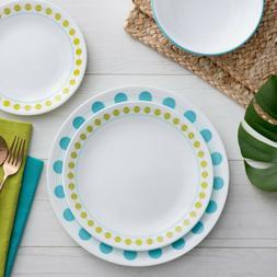 Corelle Livingware South Beach Dinnerware Set, 16 Piece - Fr