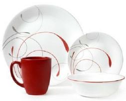 Corelle Livingware Splendor Coupe 16-piece Dinnerware Set Se