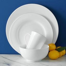 Mikasa Lucerne 40-piece Classic White Bone China Dinnerware