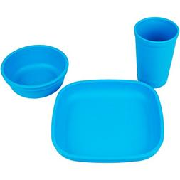 Re-Play Made in the USA Dinnerware Set for Toddlers and Chil