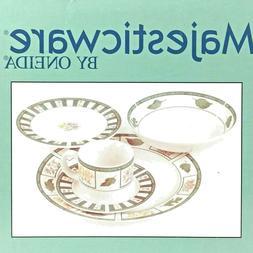 majesticware by 20 piece dinnerware set chelsea