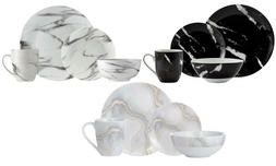 Marble 16-Piece Dinnerware Set
