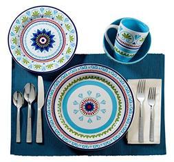 Euro Ceramica Marrakesh Dinnerware 16pieces Set