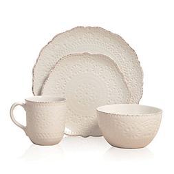 Pfaltzgraff Marseilles Stoneware Dinnerware 16-Piece Set - C