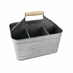 Artland Masonware Carry-All Serveware, Galvanized Metal Stee