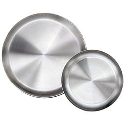 Immokaz Matte Polished 10.0 inch 304 Stainless Steel Round P