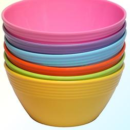 Melange 6-Piece  Melamine Bowl Set  | Shatter-Proof and Chip