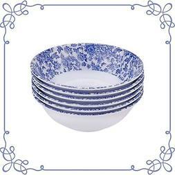 Melamine Dinnerware Bowl Set of 6 Pieces Bowl Multi Purpose