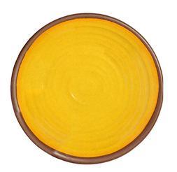 Melange 6-Piece 100% Melamine Dinner Plate Set  | Shatter-Pr