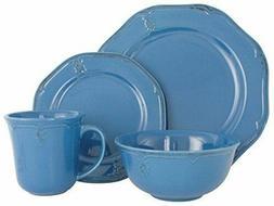 melange stoneware 16 piece dinnerware set antique