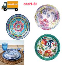 Member's Mark 18-Piece Melamine Dinnerware Set