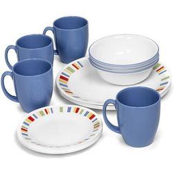 Corelle Livingware Memphis 32 Piece Dinnerware Set