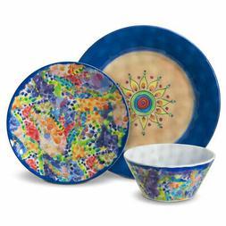 Pfaltzgraff Merisella Melamine Outdoor Dinnerware Set