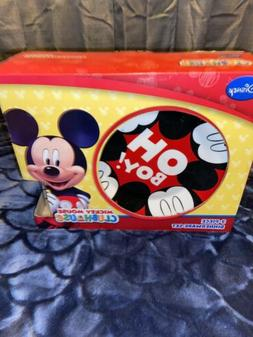 Mickey Mouse Disney Dishes 3 Piece Dinnerware Set CLUBHOUSE