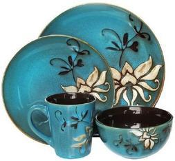 American Atelier Mirabel 16 piece Stoneware Dinnerware Set S