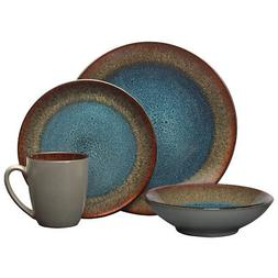 Pfaltzgraff Monroe Blue 32 Piece Dinnerware Set
